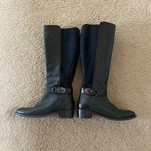 Aquatalia waterproof tall black boots